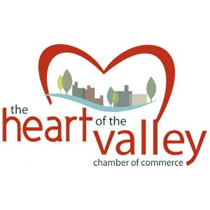 Heart of the Valley Chamber of Commerce logo